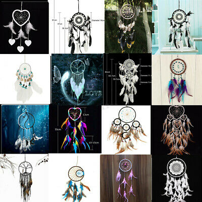 Large Handmade Dream Catcher Feather Dreamcatcher Home Decoration Ornament Craft