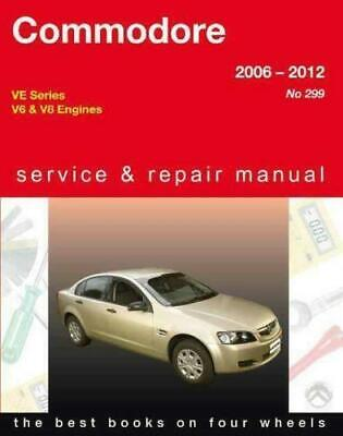 Holden Commodore VE 2006 - 2012 Gregorys Repair Manual