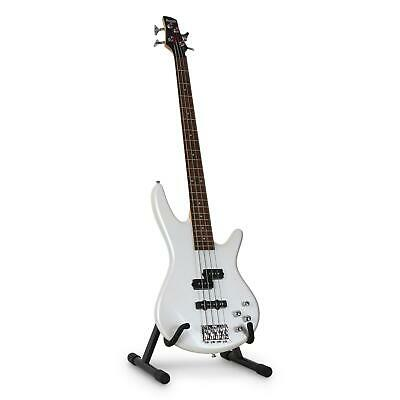 Tripode Trepied Reglable Pliable Stand Support Universel Guitare Basse 3 Niveaux