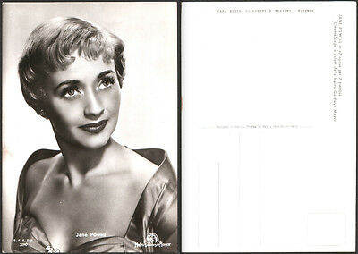 CARTOLINA FOTOGRAFICA CINEMA JANE POWELL in 7 spose per 7 fratelli - METRO G. M.