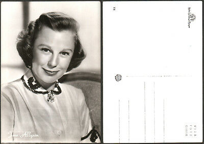 CARTOLINA FOTOGRAFICA CINEMA - JUNE ALLYSON - Metro Goldwyn Mayer - ROTALFOTO 88