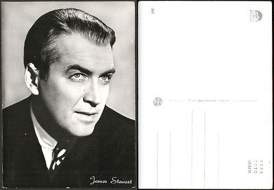 Cartolina Fotografica Cinema Movie - James Stewart - Paramount Films - Rotalfoto