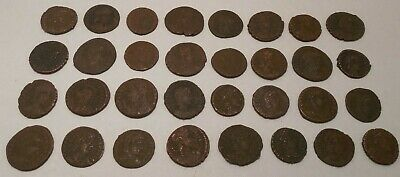 Lot of 32 - Ancient Roman - Imperial 27 BC-476 AD - Bronze Coins