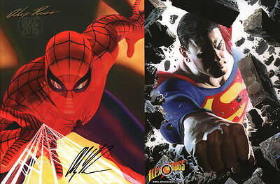 Alex Ross '15 SDCC Exclusive Comic Art Sketch Book Spiderman Star Wars Batman'66
