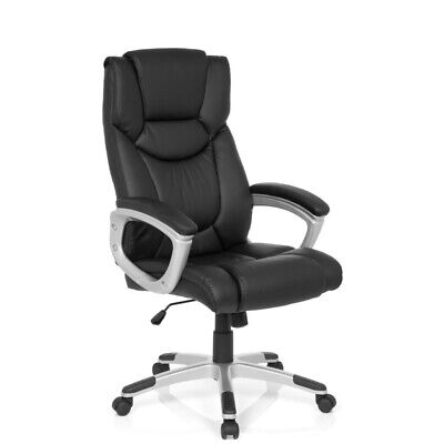 Executive Chair Racing Chair Office Chair PU Leather Black Armrests RELAX CL130