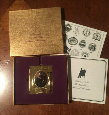 The White House Christmas Ornament Historical Association 1999 Vintage Lincoln
