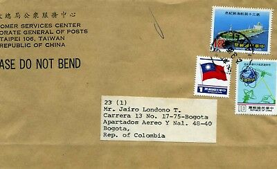 TAIWAN-REP OF CHINA, DIRECTOR GENERAL,TO MR. JAIRO LONDONO>COLOMBIA//80s