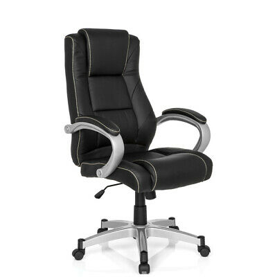 Executive Chair Office Chair Racing Chair Black High Back PU-Leather RELAX CL180