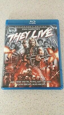 They Live - Blu-Ray - Limited Collector's Edition - Region A - John Carpenter