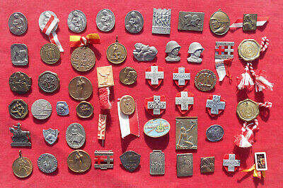Suisse : Lot De 52  Medailles & Decorations Diverses    !