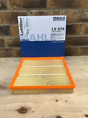 Genuine Mahle Air Filter, Lx 579 Ford Fitting.