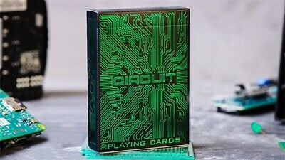 Circuit (Green) Playing Cards by Elephant Playing Cards - Magic Tricks