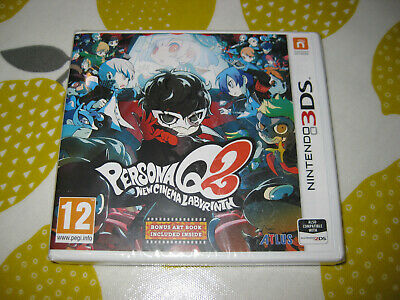 PERSONA Q2: NEW CINEMA LABYRINTH - Nintendo 3DS Game -  NEW / SEALED