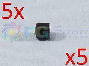 Kenwood 5x Earpiece Ring Cover Gasket Blade Wing hb71 hb72 HDP