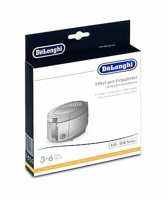 Delonghi Kit 3 filters oil fryer RotoFry Perfect Clean f38436 f38233