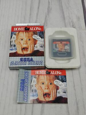 HOME ALONE Sega Game Gear Game BOXED Complete CIB VGC Very Good   - F09