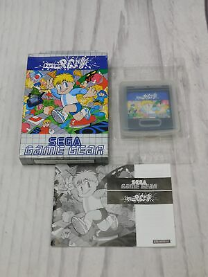 FACTORY PANIC Sega Game Gear Game BOXED Complete CIB VGC Very Good  - F09
