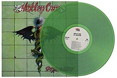 Motley Crue Dr. Feelgood Green  Colored Vinyl LP, limited, Sealed