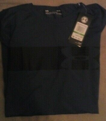 New Men's Under Armour Sports T-Shirt Short Sleeve Size Large *