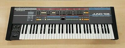 Vintage Roland Juno 106 Synthesizer Pre-owned Good Condition Free Shipping
