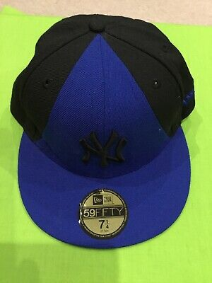 New York Yankees Baseball Cap Blue Excellent Condition New Era 59 Fifty