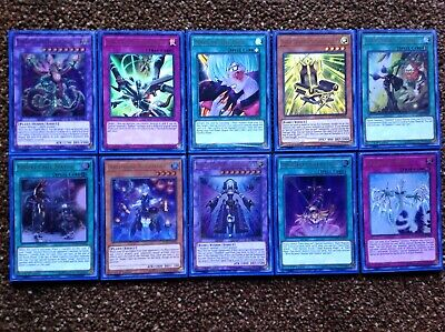Lot of 10 Ultra Rare YugiohDuel Power Cards Mint Sleeved Box Collector Yu-Gi-Oh