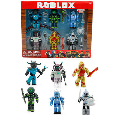 2019 Roblox Figures 6PCS/Set PVC Game Roblox Toy Box Package Kids Xmas Gift