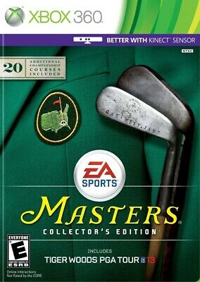 Tiger Woods PGA Tour 13 - Masters Collector's Edition - Xbox 360 Game