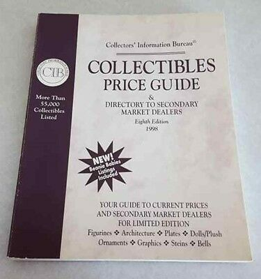 Collectibles Price Guide BOOK The Collectors Information Bureau 1998 PB 8th Ed