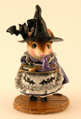 Wee Forest Folk TEACHER'S PET, WFF # EV-1, LTD Mouse Expo 2011 Witch Wizard