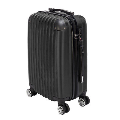 "20"" Waterproof Carry-on Spinner Hardside Travel Business Suitcase Rolling Wheels"