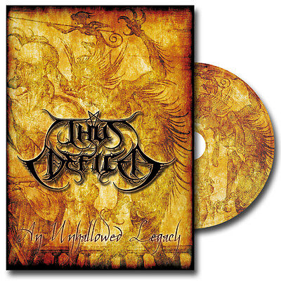 THUS DEFILED - An Unhallowed Legacy CD  - Rotting Christ Gorgoroth Mgla Watain