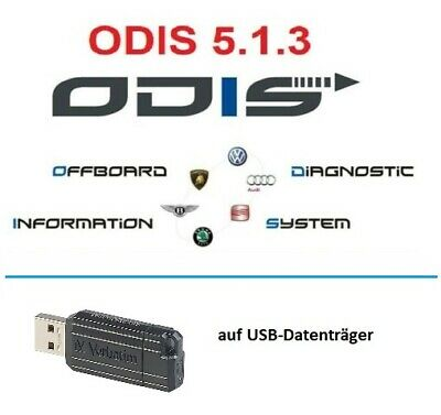 VW ODIS-S 5.1.3 Wartungsdiagnose 2019 VAG Software auf USB-Stick (1)