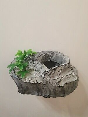 Magnetic Reptile cave ledge for vivarium gecko frog chameleon lizard