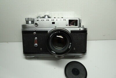 Zorki 4 with Jupiter 8 Lens leather case & original box outstanding condition