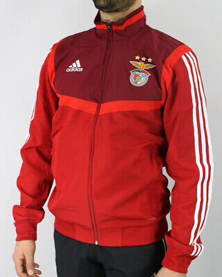 Details about Benfica SLD Adidas Down Padded Jacket PARKA Black 2019 20