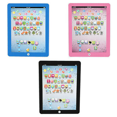 Baby Tablet Educational Toys Kids Toddler Learning English For 1-6 Years Gift UK