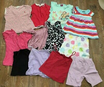 Girls Lot Clothes T-Shirts Tops Dresses Shorts Next Tights 20 Items Age 5 Years