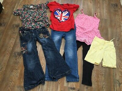 Girls Clothes Lot Jeans Next  Gap T-Shirts Top Blouse Leggings Age 8 Years