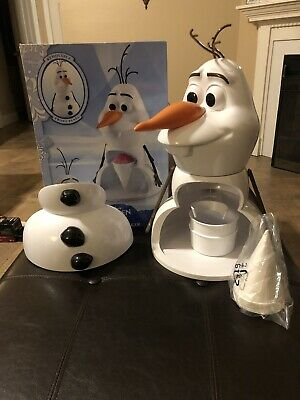 Disney Olaf Snow Cone Maker Shaved Ice Frozen Movie