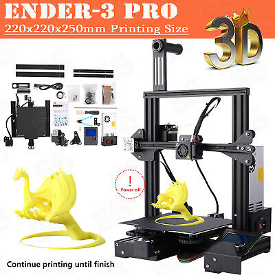 Creality Ender 3 Pro 3D Printer 220X220X250mm Mean Well Power Upgrade
