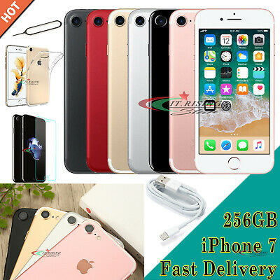 New Smartphone Unlocked Sim Free Apple iPhone 7 256GB 128GB Various Colours UK
