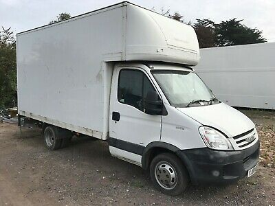 2008 (58) Iveco Daily 35C15 Luton Van with Tail Lift-- Spares or repairs-3 litre