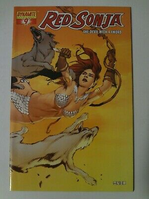 Red Sonja #9 - Dynamite Entertainment - Cover D - Mel Rubi
