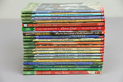 Magic Tree House 20 Paperback Book Lot Add To Your Home Library Osborne