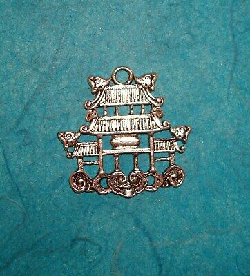 Pendant Pagoda Charm Chinese Food Charm Asian Tower China Tower Japanese Temple
