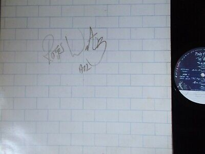 """PINK FLOYD ~ """"The Wall"""" (Harvest) UK -1979 ORIGINAL! - SIGNED ROGER WATERS 1982"""