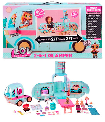 L.O.L. Surprise!  2-in-1 Glamper LOLSurprise with 55+ surprises WOW 55 Brand NEW