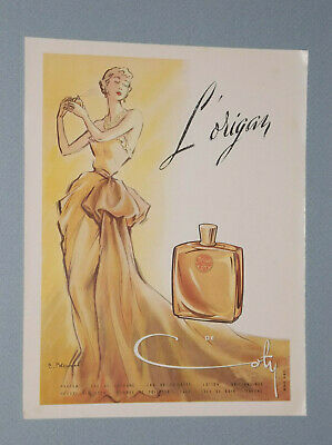 9 1935-1950 Ads For Coty Perfume From American, French, British Magazines