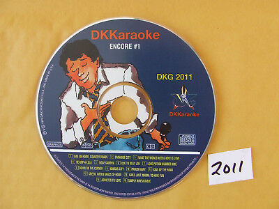 DK Karaoke DKG 2011 Millennium Encore #1 Excellent Condition